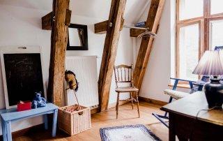 FeWo Kornblume - Urlaub im Gutshaus Ehmkendorf in Mecklenburg Vorpommern