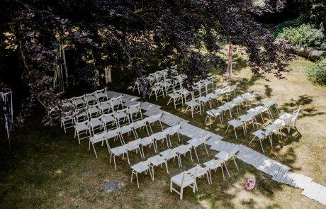 Hochzeit Location Mecklenburg Vorpommern im Gutshaus Ehmkendorf - Trauung unter der Blutbuche