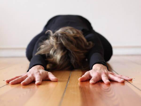 Yogalehrerin Nuschi